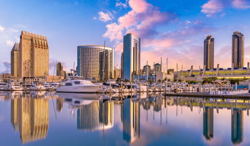 San Diego Shot